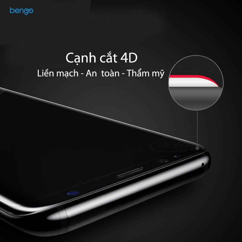 Dán màn hình cường cực Samsung Galaxy S8 Plus 4D full