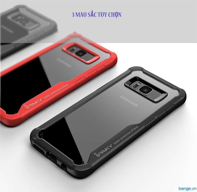 Ốp lưng Samsung Galaxy S8 IPAKY Air Hybrid