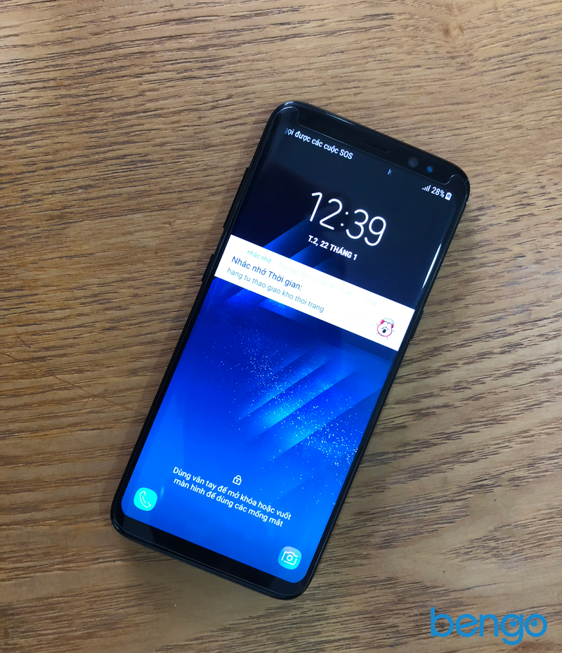 Dán màn hình cường lực Samsung S8 4D full màn hình, phủ keo và từ tính 100%