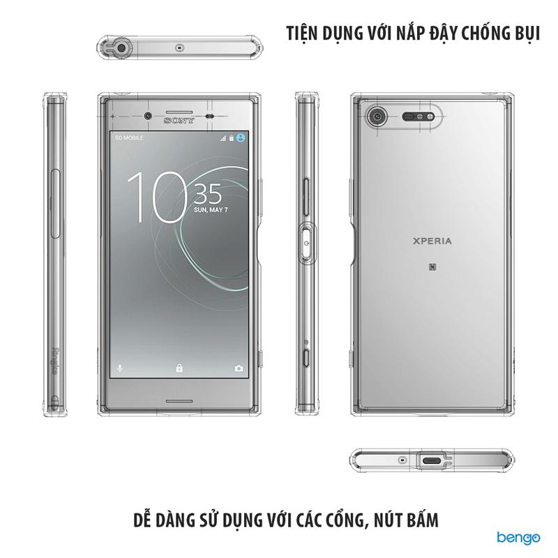Ốp lưng Sony Xperia XZ Premium RINGKE Fusion