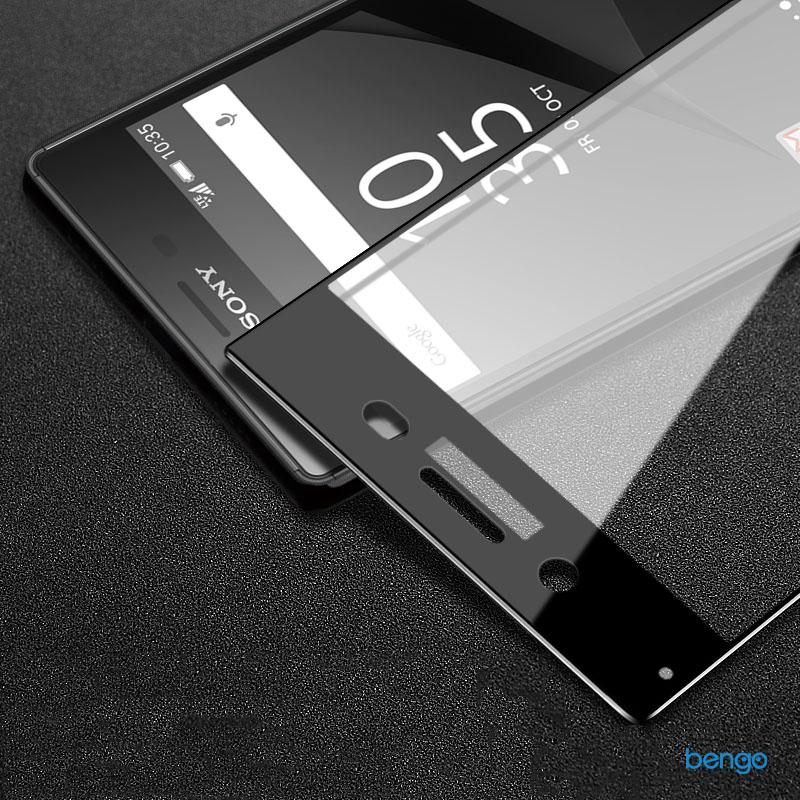 Dán màn hình cường lực Sony Xperia XZ1 4D Full màn hình