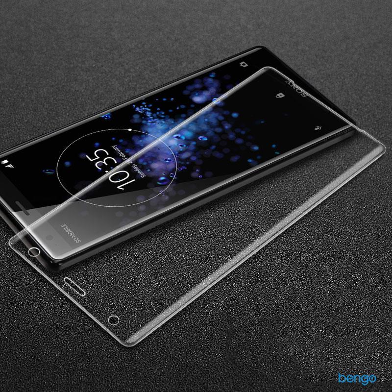 Dán cường lực Sony Xperia XZ2 3D full màn hình