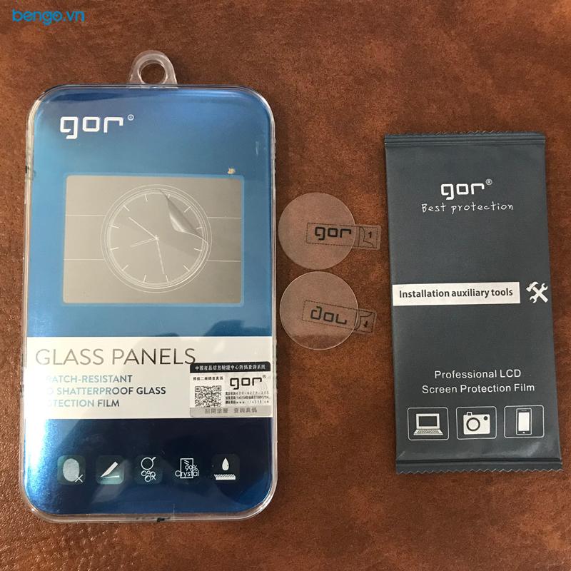 Dán cường lực màn hình Huawei Watch GT 2 GOR (Hộp 2 miếng)