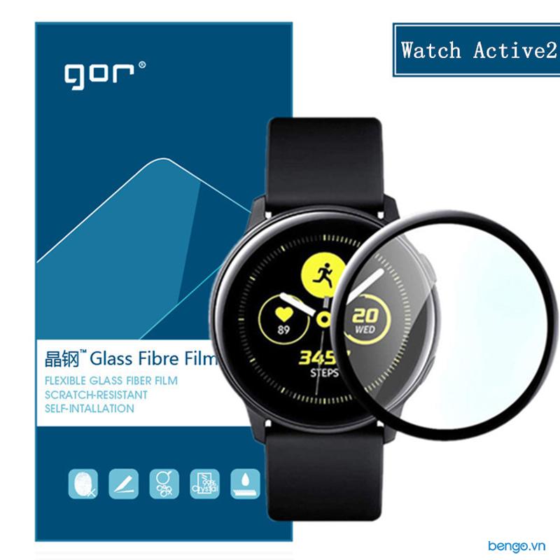 Dán màn hình Samsung Galaxy Watch Active 2 GOR (Hộp 2 miếng)