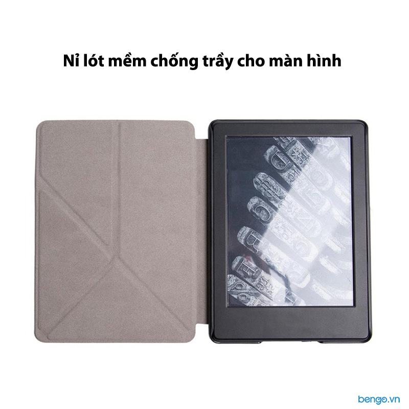 Bao da Kindle Paperwhite 2018 thế hệ 4 (10th) dựng đứng máy