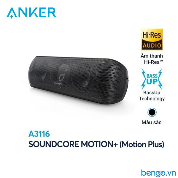 Loa Bluetooth Anker SoundCore Motion+, 30w A3116