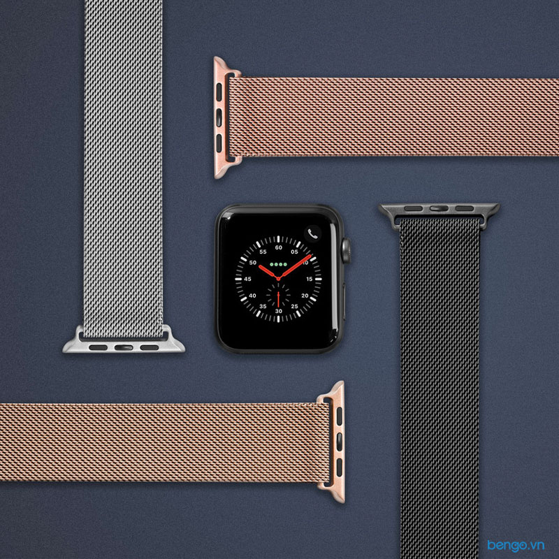 Dây đeo Apple Watch LAUT Steel Loop Series