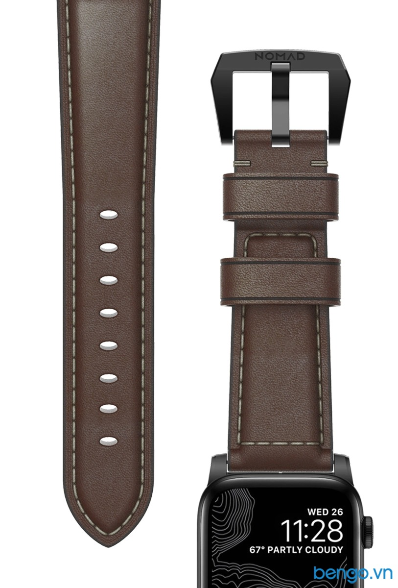 Dây Apple Watch NOMAD Traditional Strap Leather 44mm/42mm