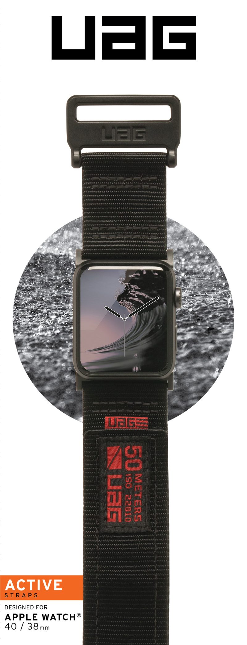 Dây đeo Apple Watch 40mm & 38mm UAG Active