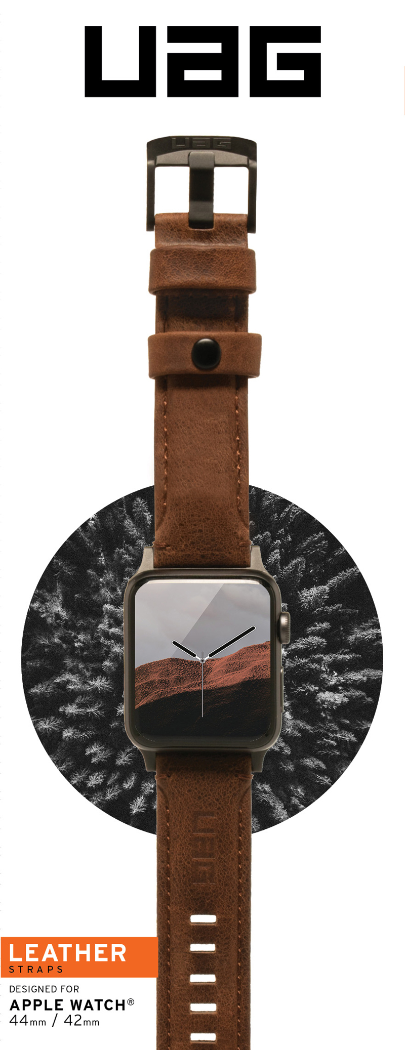Dây đeo Apple Watch 42mm & 44mm UAG Leather