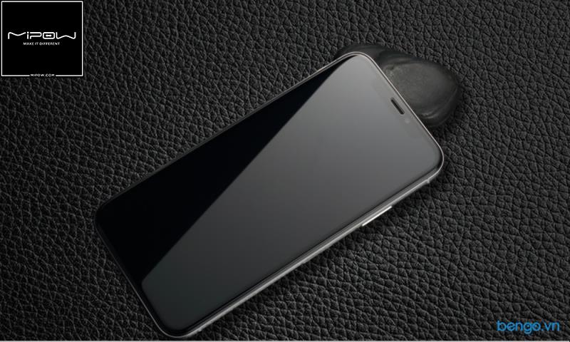 Dán cường lực iPhone Xs/X Full 3D MIPOW KING BULL