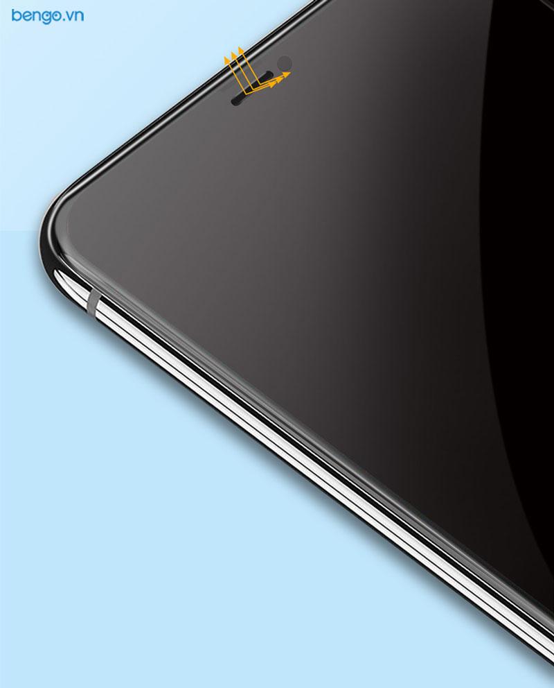 Kính cường lực iPhone 11 Full HD (2.7D) MIPOW KING BULL chống nhìn trộm