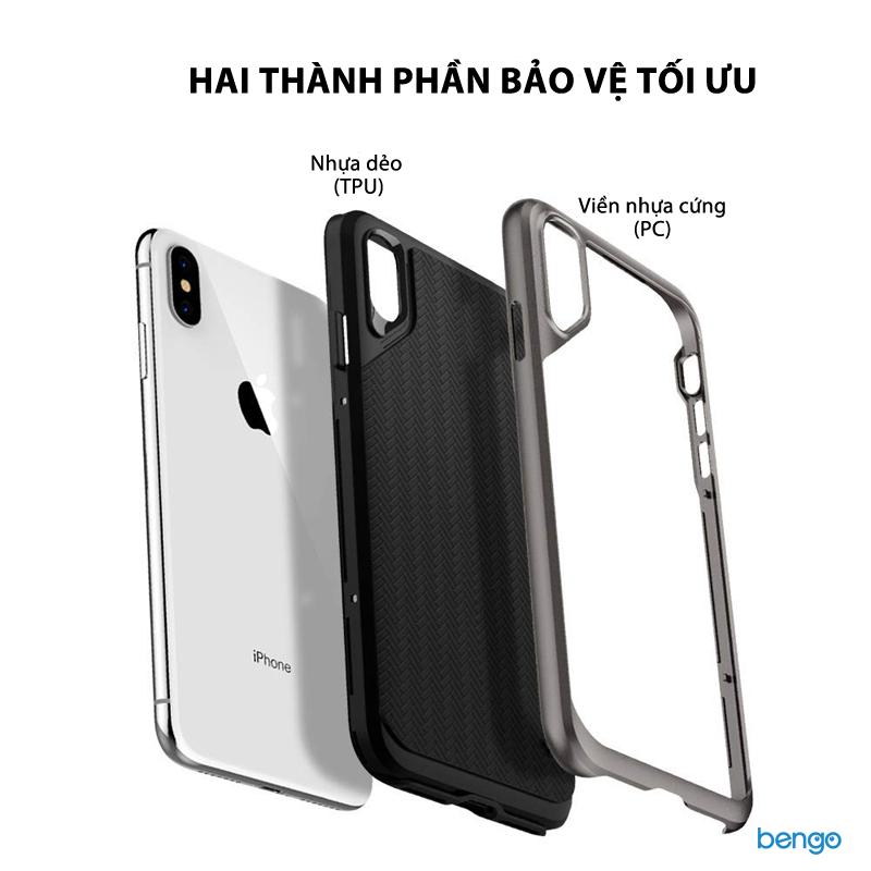 Ốp lưng iPhone Xs Max SPIGEN Neo Hybrid