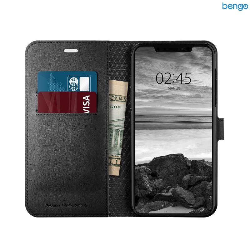 Bao da iPhone Xs Max SPIGEN Wallet S