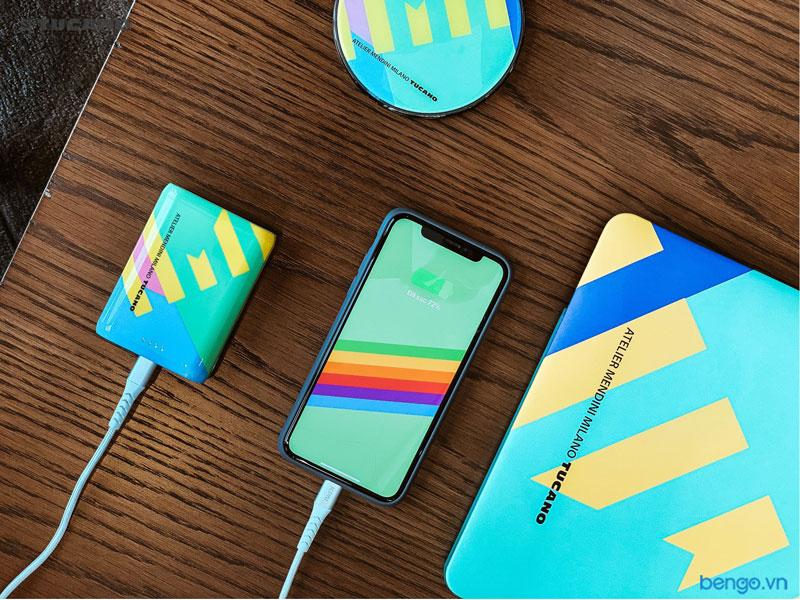 Ốp lưng iPhone Xs Max TUCANO Shake Mendini