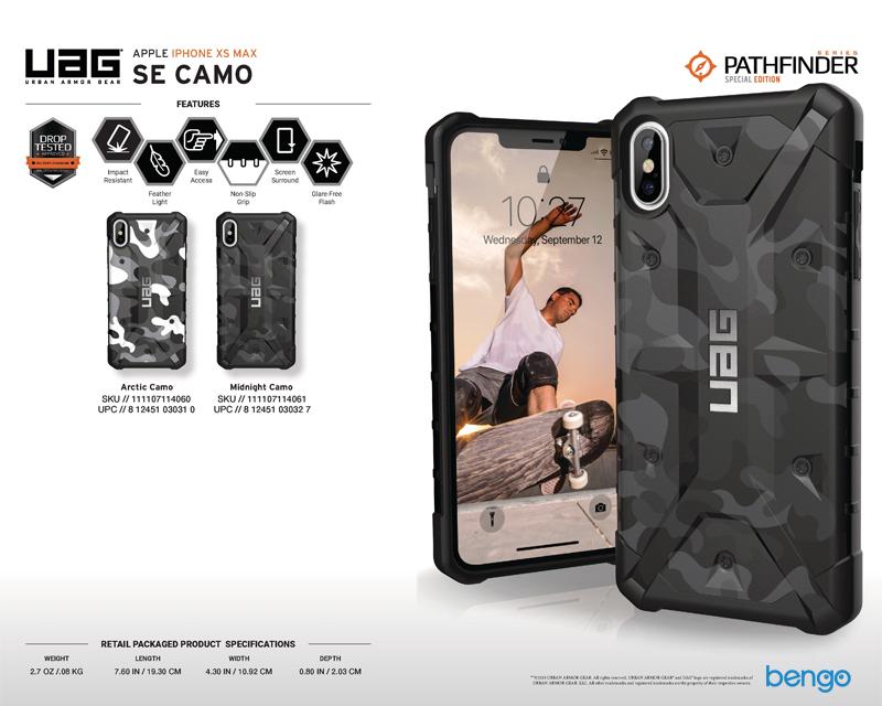 Ốp lưng iPhone Xs Max UAG Pathfinder SE Camo