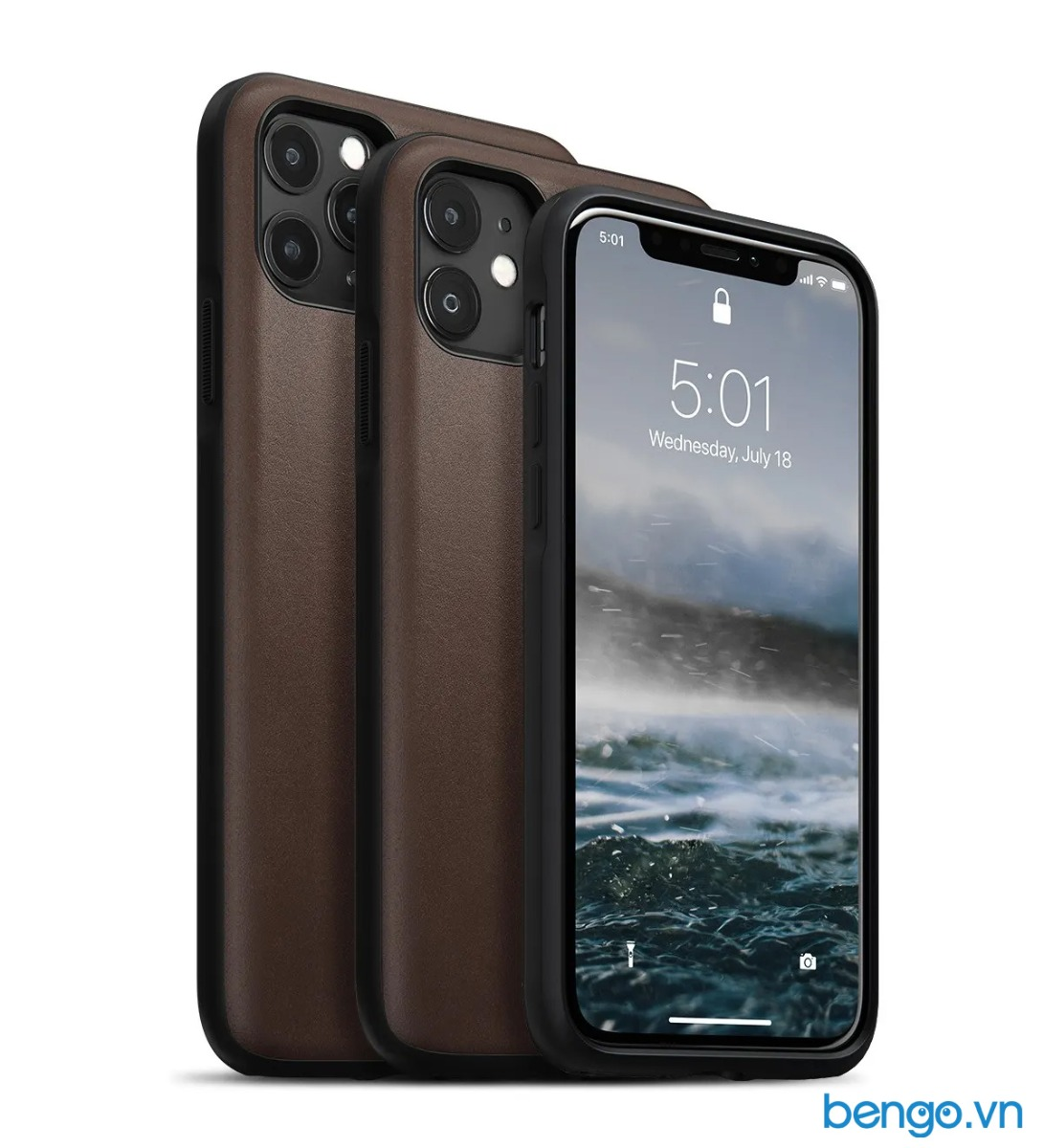 Ốp lưng iPhone 11 Pro Max NOMAD Rugged Leather