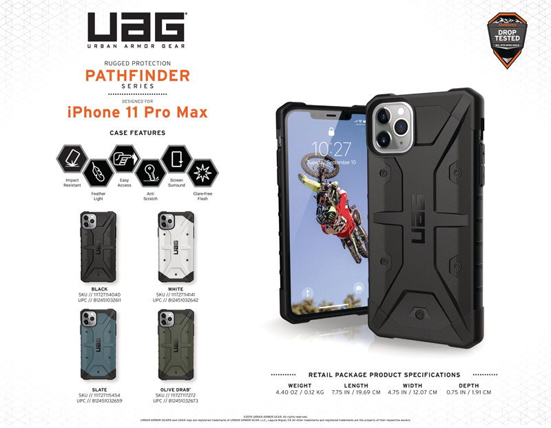 Ốp lưng iPhone 11 UAG Pathfinder Series