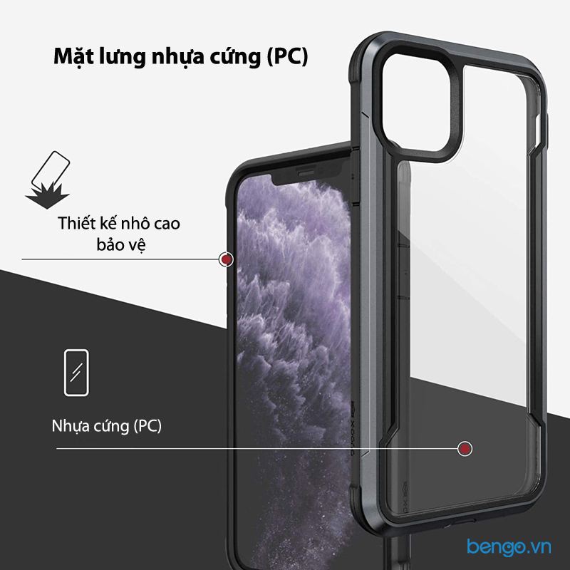 Ốp lưng iPhone 11 Pro Max X-Doria Defense Shield
