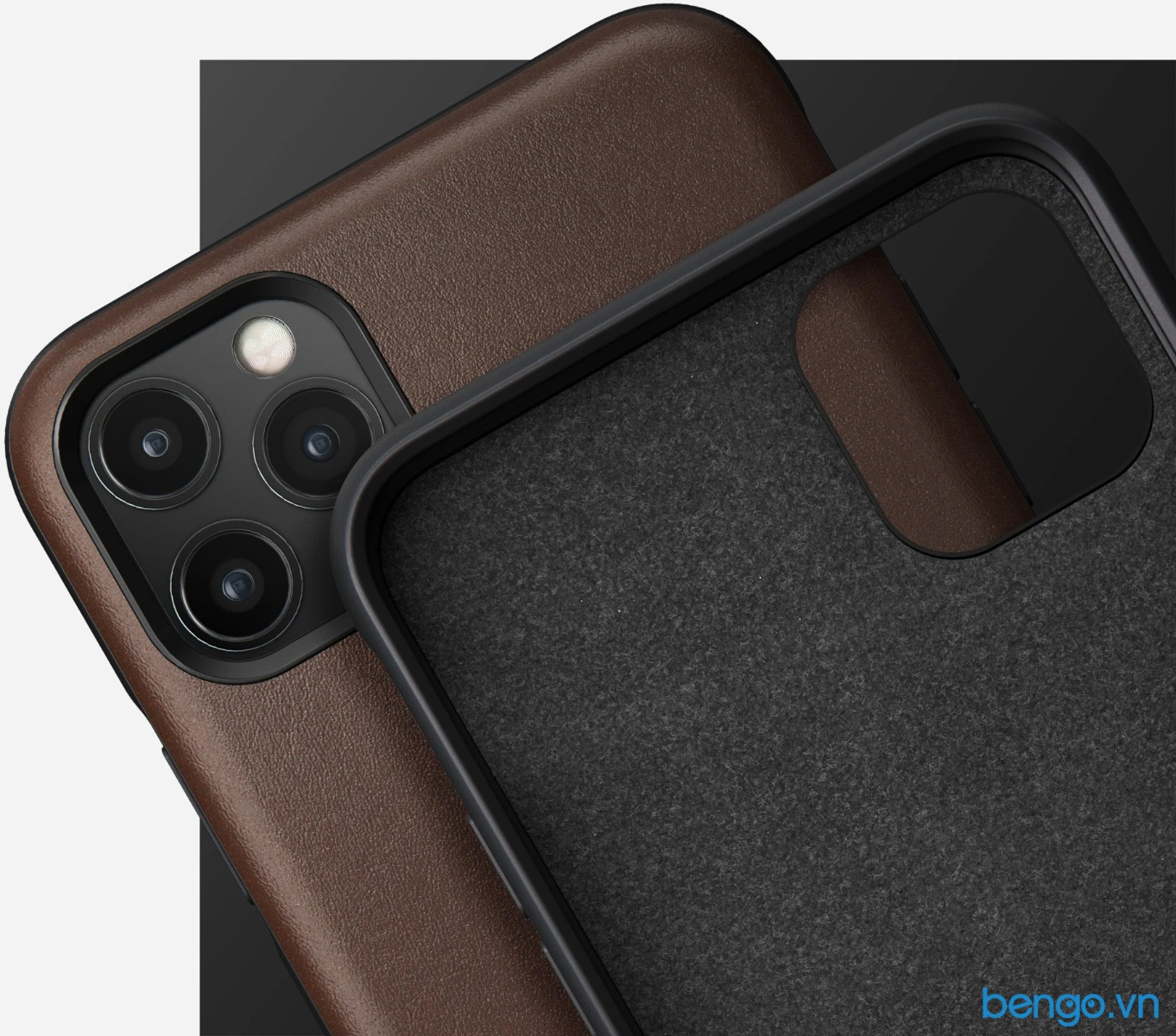 Ốp lưng iPhone 11 Pro NOMAD Rugged Leather
