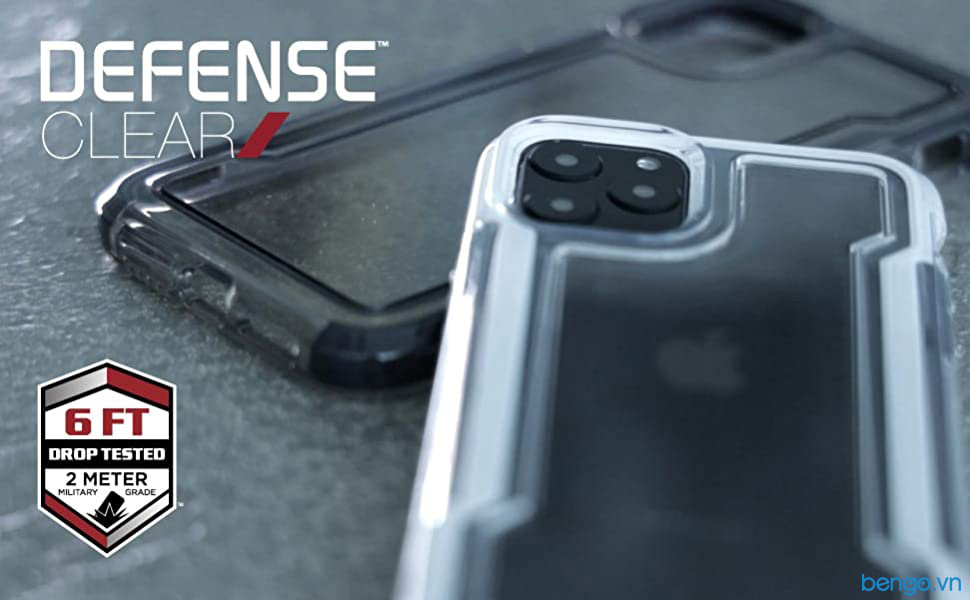 Ốp lưng iPhone 11 Pro X-Doria Defense Clear