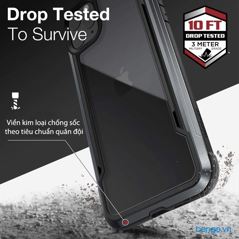 Ốp lưng iPhone 11 Pro X-Doria Defense Shield