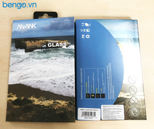 Dán cường lực iPhone 11 ANANK 2.5D Full Clear