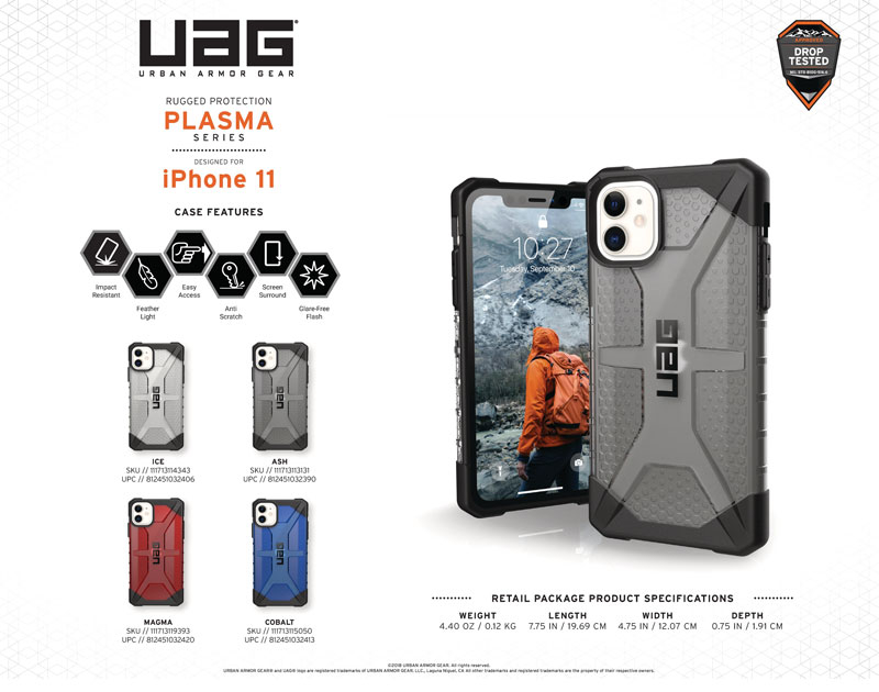 Ốp lưng iPhone 11 UAG Plasma Series