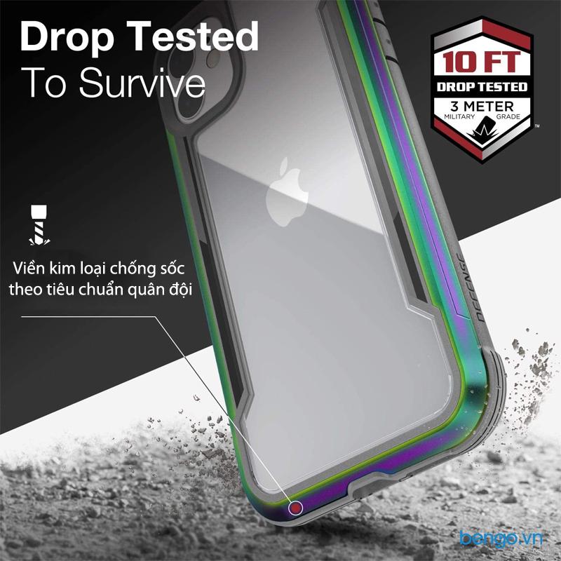Ốp lưng iPhone 11 X-Doria Defense Shield