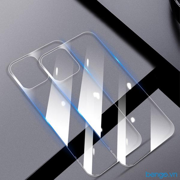 Dán cường lực mặt lưng iPhone 12 GOR 2.5D (Hộp 2 miếng)