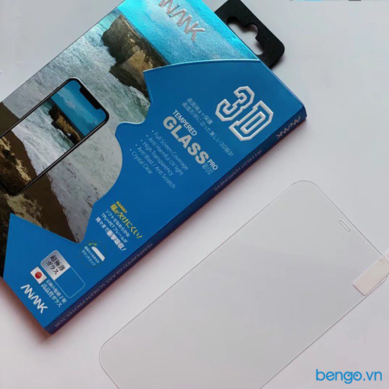 Dán cường lực iPhone 12/12 Pro ANANK 3D Full Clear