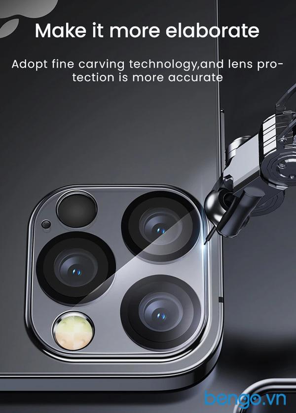 Dán cường lực bảo vệ camera iPhone 12 Benks