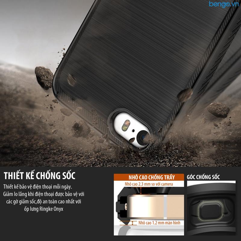 Ốp lưng iPhone SE/iPhone 5s Ringke Onyx