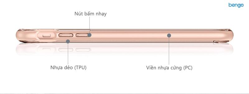 Ốp lưng iPhone 8/7 Spigen Crystal Hybrid