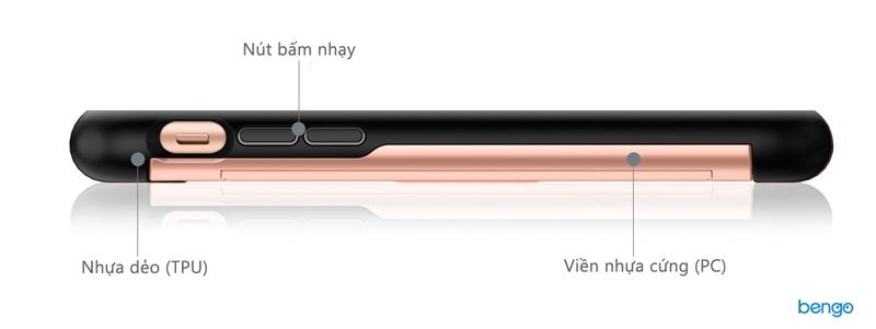 Ốp lưng iPhone Xs Max SPIGEN Slim Armor CS