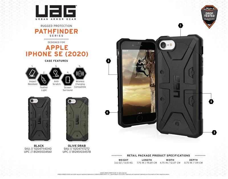 Ốp lưng iPhone SE 2020 UAG Pathfinder Series