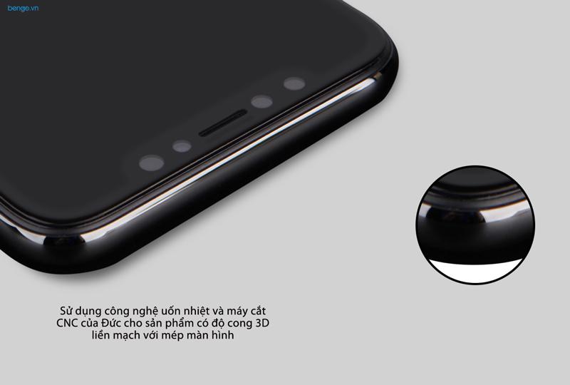Kính cường lực iPhone Xs/X Nillkin 3D AP+ Max chống nhìn trộm