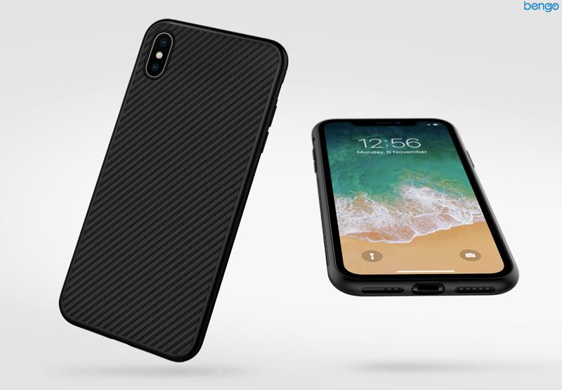 Ốp lưng iPhone Xs/X Nillkin sợi tổng hợp (Synthetic Fiber)