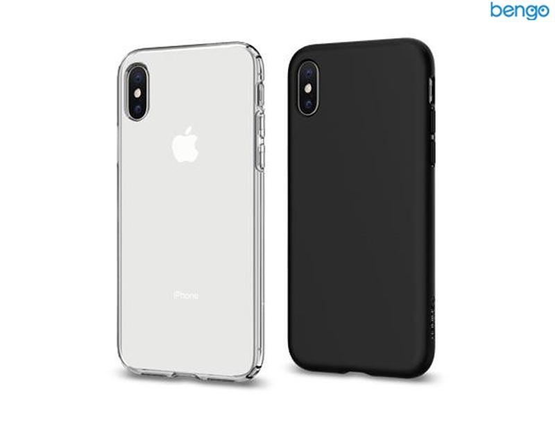 Ốp lưng iPhone XS/X SPIGEN Liquid Crystal Glitter