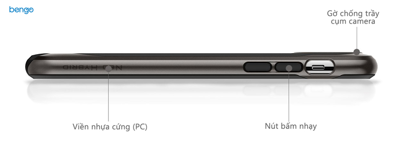 Ốp lưng iPhone X SPIGEN Neo Hybrid