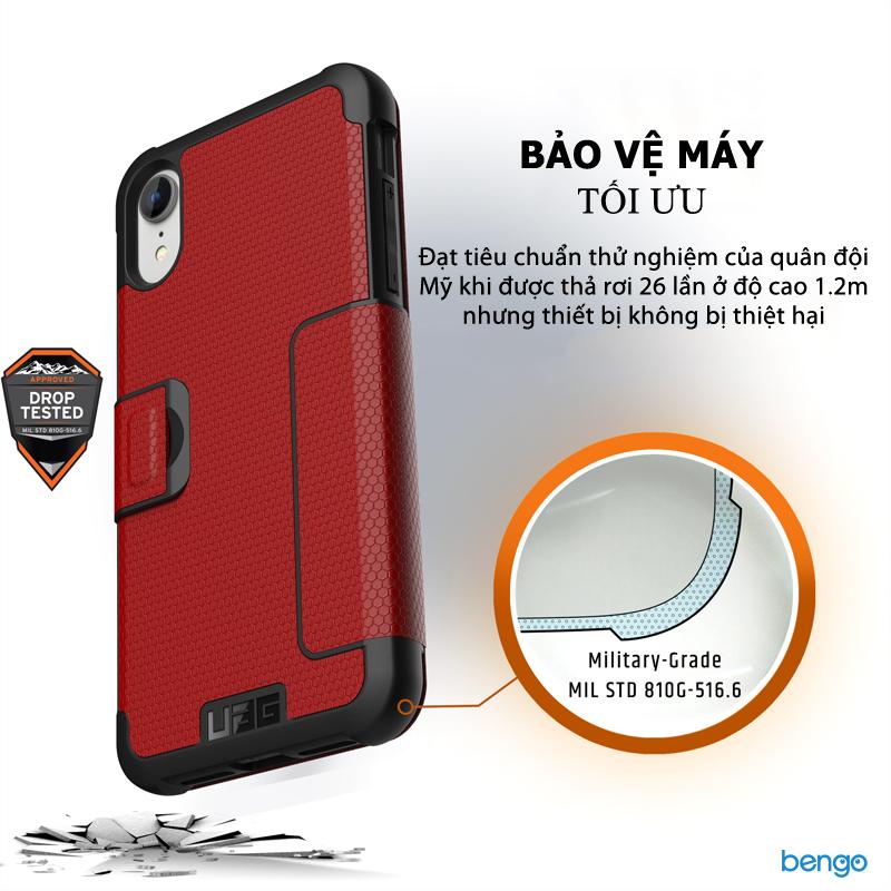 Ốp lưng iPhone XR UAG Metropolis Series