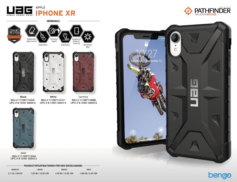 Ốp lưng iPhone XR UAG Pathfinder Series