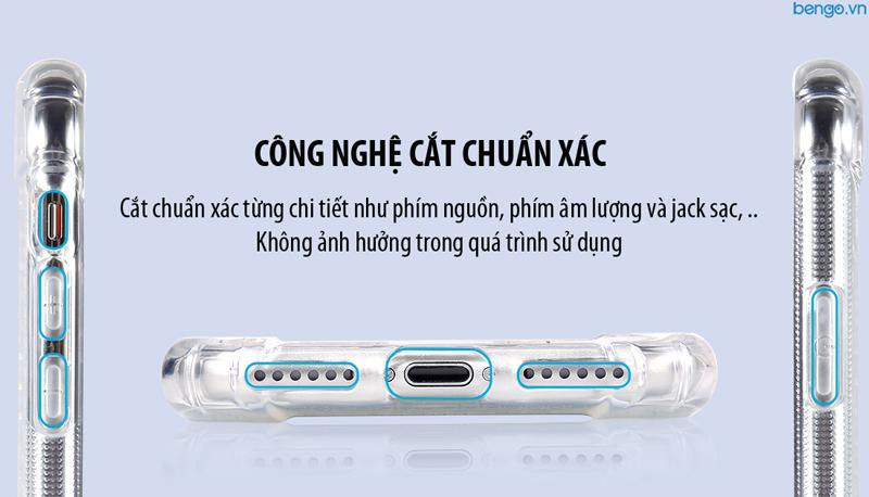 Ốp lưng iPhone Xs/X Lensun Anti-Shock