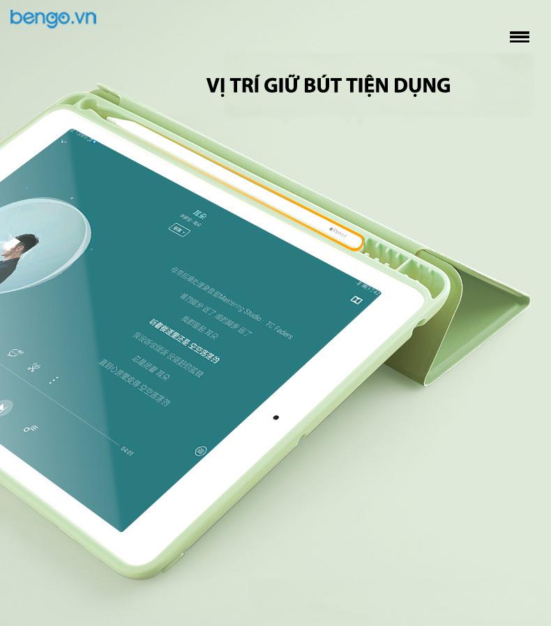 Bao da iPad 10.2 inch 2019 Smartcover with Pencil Holder