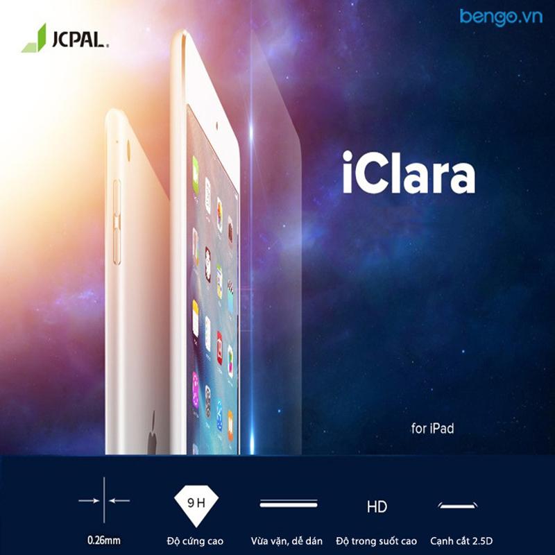 Dán màn hình cường lực iPad Air 10.5 2019/Pro 10.5 JCPAL iClara 9H