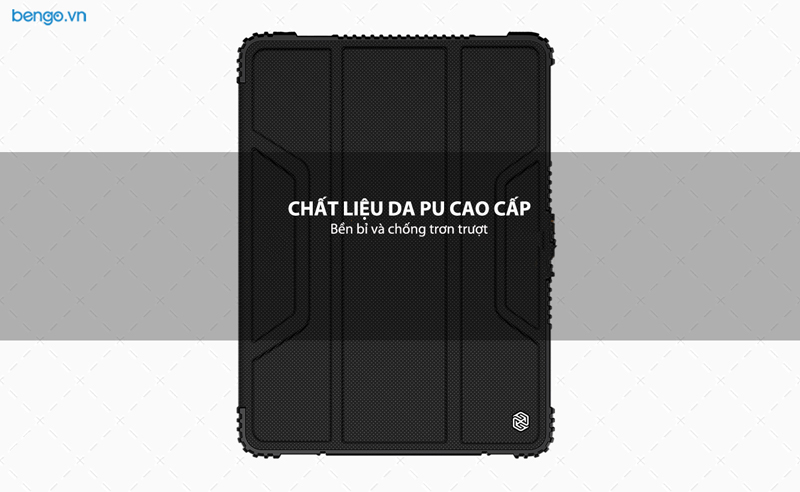 Bao da iPad 10.2 inch 2019 NILLKIN Bumper Leather with Pencil Holder