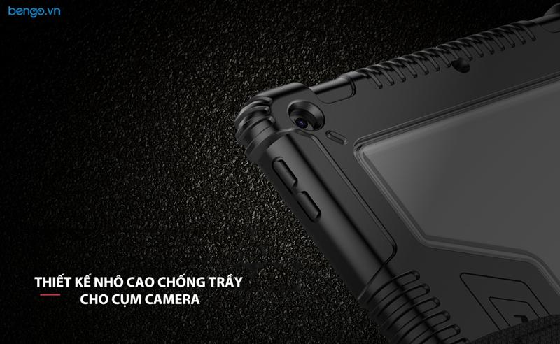 Bao da iPad 10.2 inch 2019 NILLKIN Bumper Leather with Pencil Holder