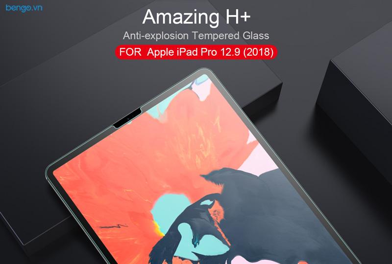 Dán màn hình cường lực iPad Pro 12.9'' 2018 Nillkin Amazing H+