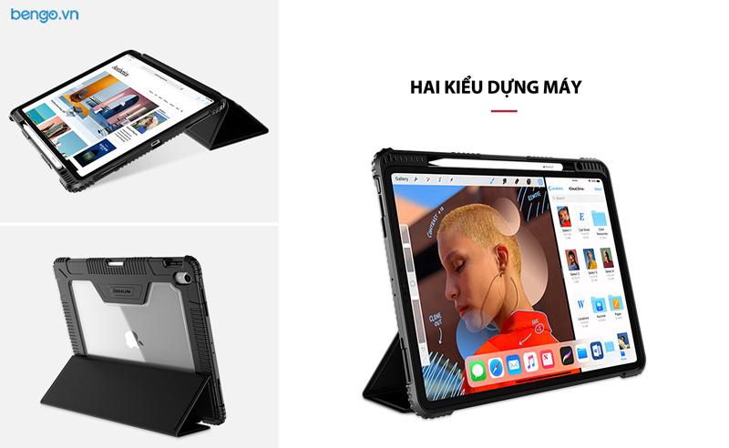 Bao da iPad iPad Pro 12.9'' 2018 (thế hệ 3) Nillkin with Pencil Holder
