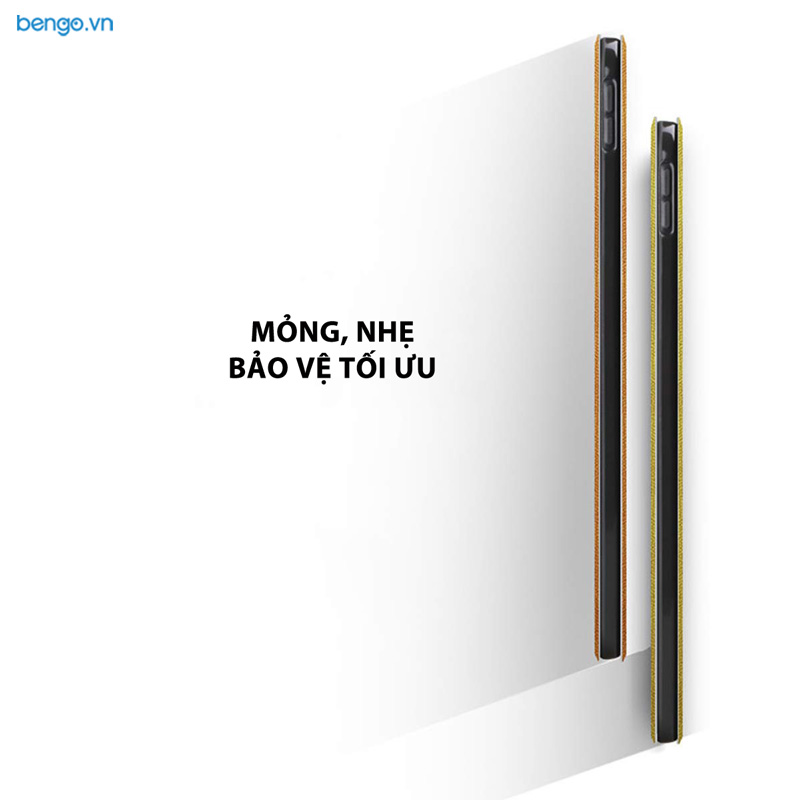 Bao da iPad Pro 11'' 2018 Họa tiết Well Begun is Half Done